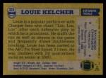 1982 Topps #235  Louie Kelcher  Back Thumbnail