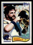 1982 Topps #238  George Roberts  Front Thumbnail