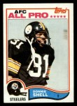 1982 Topps #217  Donnie Shell  Front Thumbnail