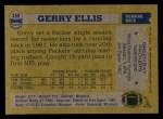 1982 Topps #359  Gerry Ellis  Back Thumbnail
