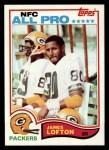 1982 Topps #364  James Lofton  Front Thumbnail