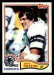 1982 Topps #315  John Dutton  Front Thumbnail