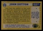 1982 Topps #315  John Dutton  Back Thumbnail