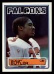1983 Topps #16  Bobby Butler  Front Thumbnail