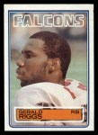 1983 Topps #25  Gerald Riggs  Front Thumbnail