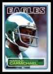 1983 Topps #137  Harold Carmichael  Front Thumbnail