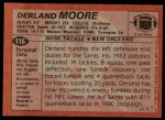 1983 Topps #116  Derland Moore  Back Thumbnail