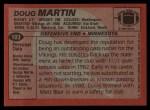 1983 Topps #103  Doug Martin  Back Thumbnail