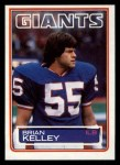 1983 Topps #129  Brian Kelley  Front Thumbnail