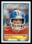 1983 Topps #269  Steve Watson  Front Thumbnail