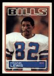 1983 Topps #226  Frank Lewis  Front Thumbnail