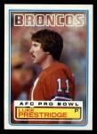 1983 Topps #267  Luke Prestridge  Front Thumbnail