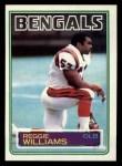 1983 Topps #243  Reggie Williams  Front Thumbnail