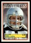 1983 Topps #305  Matt Millen  Front Thumbnail