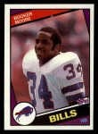 1984 Topps #29  Booker Moore  Front Thumbnail