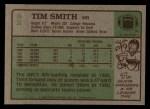1984 Topps #82  Tim Smith  Back Thumbnail