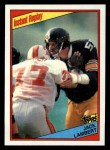1984 Topps #168   -  Jack Lambert Instant Reply Front Thumbnail