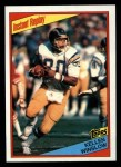 1984 Topps #187   -  Kellen Winslow Instant Reply Front Thumbnail