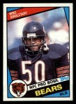 1984 Topps #232  Mike Singletary  Front Thumbnail