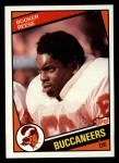 1984 Topps #370  Booker Reese  Front Thumbnail