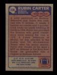 1985 Topps #236  Rubin Carter  Back Thumbnail