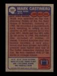 1985 Topps #337  Mark Gastineau  Back Thumbnail