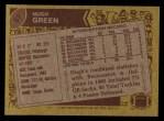1986 Topps #57  Hugh Green  Back Thumbnail