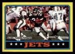 1986 Topps #94   -  Freeman McNeil / Mickey Shuler / Kerry Glenn / Bobby Jackson / Mark Gastineau / Lance Mehl Jets Leaders Front Thumbnail