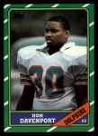 1986 Topps #47  Ron Davenport  Front Thumbnail