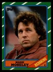 1986 Topps #179  Mark Moseley  Front Thumbnail