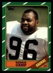 1986 Topps #195  Reggie Camp  Front Thumbnail