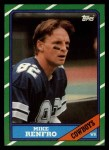 1986 Topps #128  Mike Renfro  Front Thumbnail