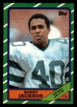 1986 Topps #109  Bobby Jackson  Front Thumbnail