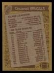 1986 Topps #254   -  James Brooks / Cris Collinsworth / James Griffin / Eddie Edwards / Tim Krumrie Bengals Leaders Back Thumbnail
