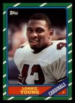 1986 Topps #337  Lonnie Young  Front Thumbnail