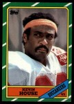 1986 Topps #376  Kevin House  Front Thumbnail