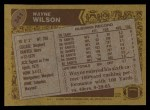 1986 Topps #341  Wayne Wilson  Back Thumbnail