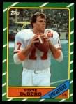1986 Topps #373  Steve DeBerg  Front Thumbnail