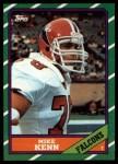 1986 Topps #366  Mike Kenn  Front Thumbnail