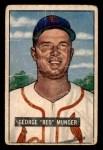 1951 Bowman #11  Red Munger  Front Thumbnail