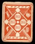 1951 Topps Red Back #4  Vern Stephens  Back Thumbnail