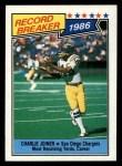 1987 Topps #4   -  Charlie Joiner Record Breaker Front Thumbnail