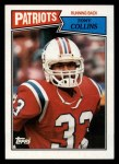 1987 Topps #99  Tony Collins  Front Thumbnail