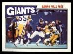 1987 Topps #9   -  Joe Morris / Mark Bavard / Terry Kinard / Perry Williams / Lawrence Taylor / Carl Banks Giants Leaders Front Thumbnail