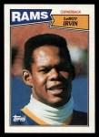 1987 Topps #158  LeRoy Irvin  Front Thumbnail