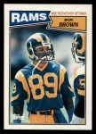 1987 Topps #148  Ron Brown  Front Thumbnail