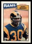 1987 Topps #147  Barry Redden  Front Thumbnail