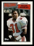 1987 Topps #251  William Andrews  Front Thumbnail