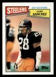 1987 Topps #292  Lupe Sanchez  Front Thumbnail