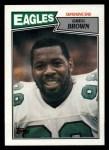 1987 Topps #303  Greg Brown  Front Thumbnail